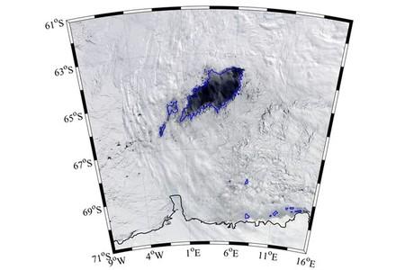 Éste es el agujero del tamaño de un país que se ha abierto en la Antártida