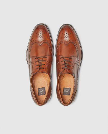 Bluchers De Hombre Unit Piel Zapatos De Vestir Con Cordones Y Detalle De Picados Marron Zapatos Hombre Zapatos De Vestir Cuero 0cwsn4q13xdvk24r 4