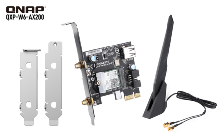 QNAP QXP-W6-AX200 puede actualizar tu ordenador con conectividad WiFi 6 de hasta 2.400 Mbps y Bluetooth 5.0