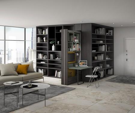 Muebles para ocultar la zona de trabajo