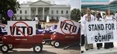 El seguro médico infantil del programa SCHIP de Estados Unidos, puede salir adelante