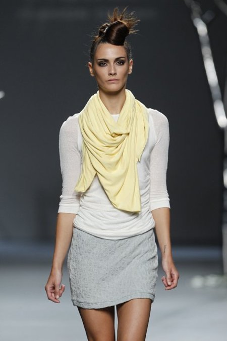 Amarillo Sara Coleman Cibeles Madrid Fashion Week