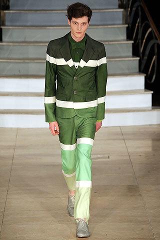 House of Holland, colección Otoño-Invierno 2009/2010, verde