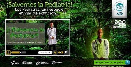 """Pediatras en peligro de extinción: """"¡Salvar la Pediatría!"""""""