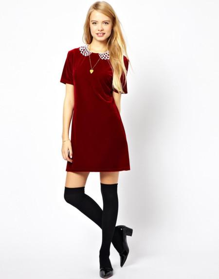 vestido terciopelo