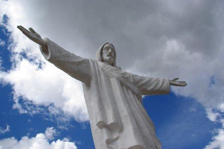 El Cristo Blanco, en Cusco