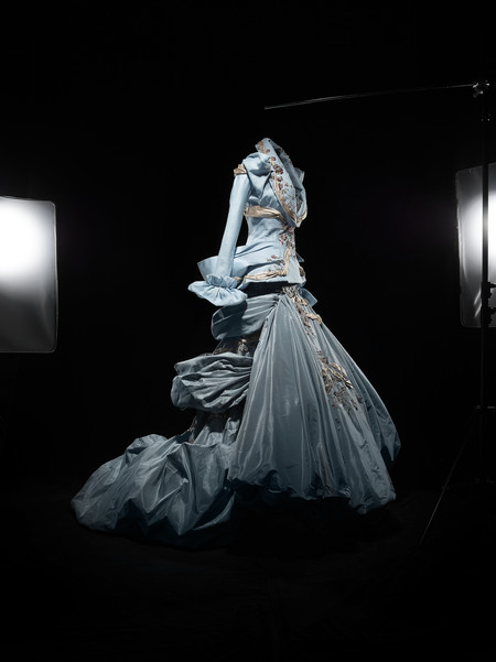Amber Valleta Inspired By Renoir Ensemble Haute Couture Ah 2007 Collection Dior Heritage Paris C Laziz Hamani
