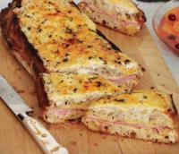 Receta de Croque Monsieur, cremoso sándwich extracrujiente