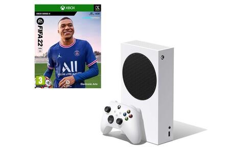 Hazte con FIFA 22 gratis gracias a este pack: XBOX Series S y el nuevo título de EA ahora cuestan 299 euros en Amazon