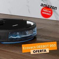 Barre, friega y ahora te sale más barato que nunca en Amazon: Ecovacs Deebot 950 por sólo 369 euros