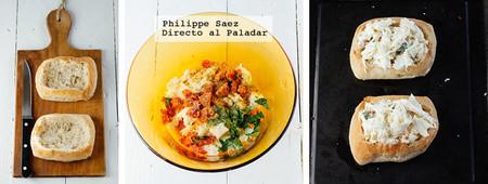 Panecillos Chorizo Mozzarella Receta