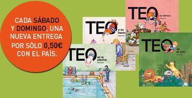 Colección de cuentos de Teo con El País