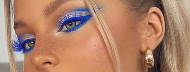 Cinco formas de usar un delineador de ojos azul para potenciar nuestra mirada al máximo