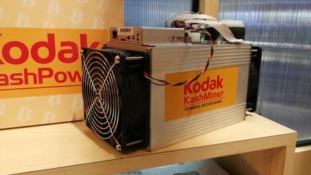 Kodak lanza su propio minador de bitcoins, pero tendrás que darles la mitad de lo que ganes con él