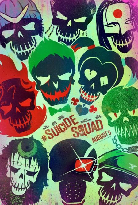 Carteles de 'Escuadrón suicida'
