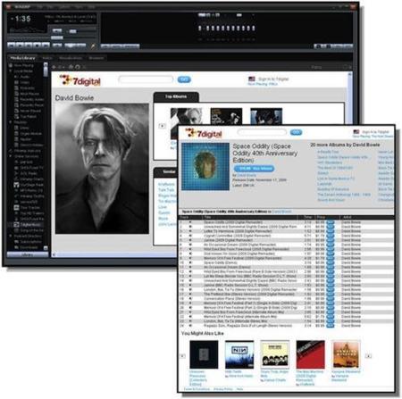 Winamp se apunta a las tiendas de música online