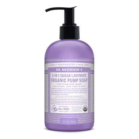 Dr Bronner S Body Wash In Lavender Scent