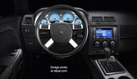 El interior del Dodge Challenger SRT8