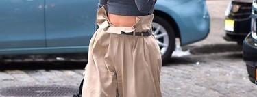 Estos 13 pantalones paperbag podrían ser todo lo que necesitas para dar un giro a tu armario este otoño como ha hecho Letizia