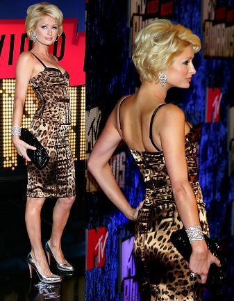 El look de Paris Hilton en los MTV Video Music Awards