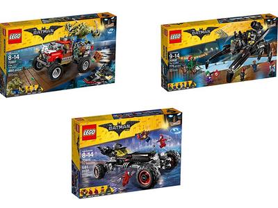 Tres sets de Lego Batman a su precio mínimo en Amazon. Además vienen con envío gratis
