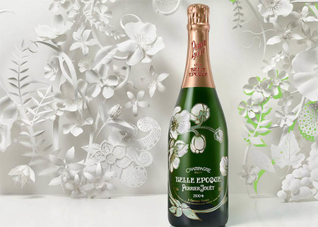 Champagne Perrier Jouët, detalles de lujo