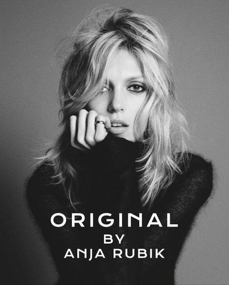 Anja Rubik, otra modelo que lanzó su propia fragancia
