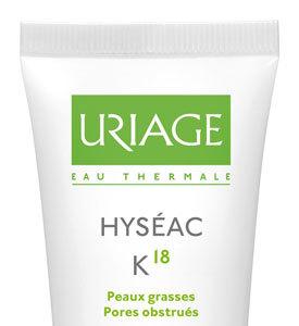 Hyséac K18 de Uriage, ataque frontal diario al acné
