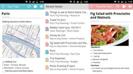 Lanzado OneNote para Android en muchos países más, España entre ellos