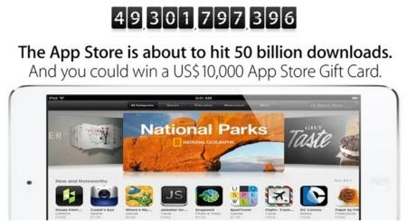 Apple celebra con regalos la descarga 50.000 millones de su App Store