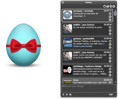 Pwitter, un cliente para twitter interesante y gratuito