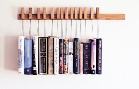 No apiles tus libros: cuélgalos