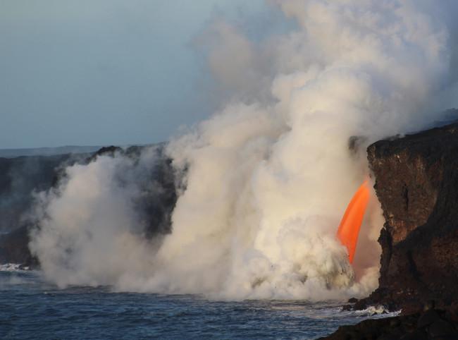 Tours de lava en Hawái