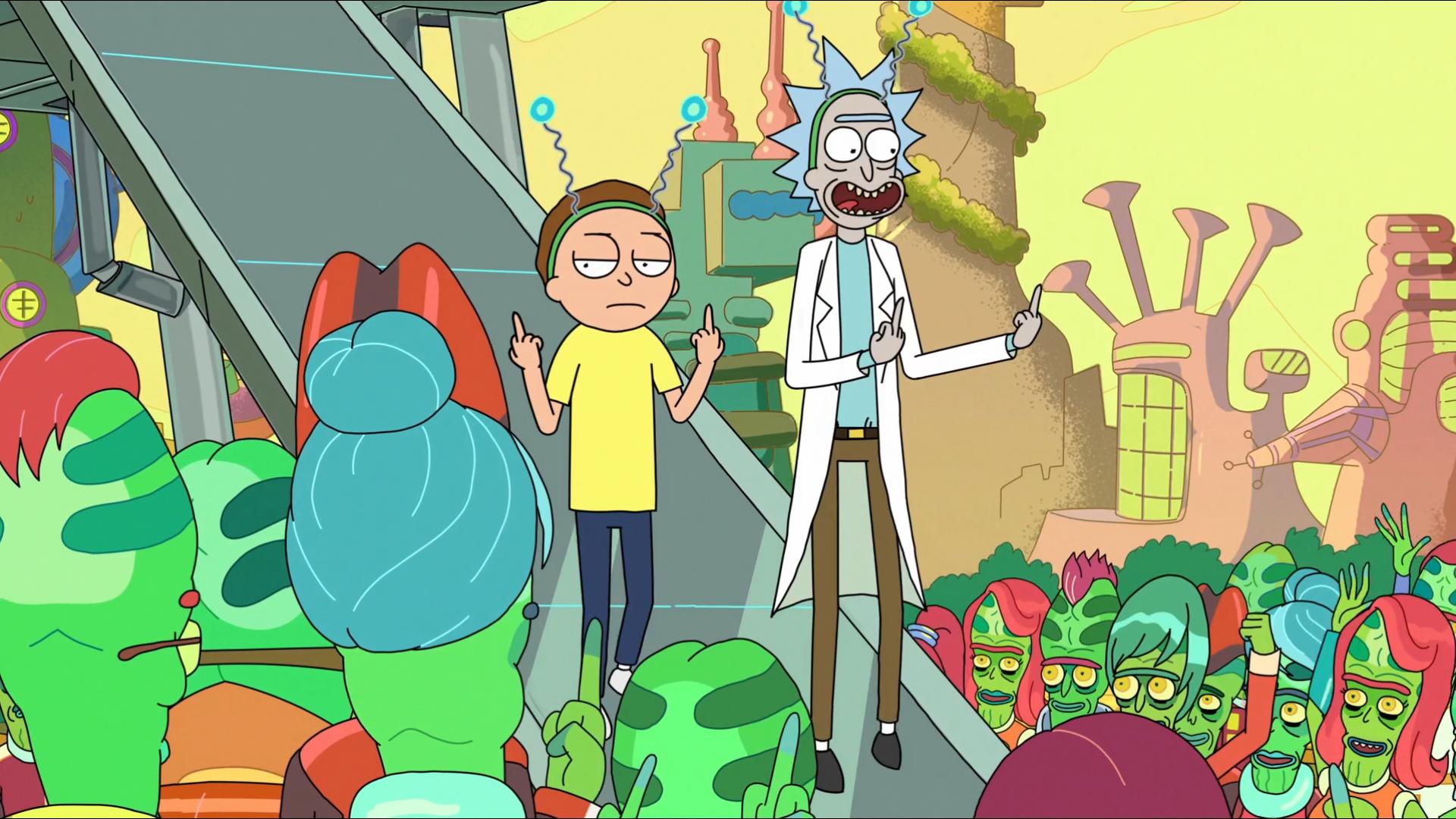 Foto de Fondos de pantalla de 'Rick y Morty' (12/13)