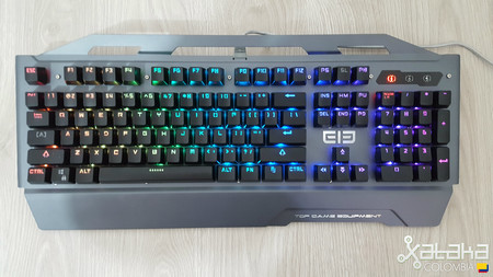 ELE ELeEnter Game 2, análisis: un excelente teclado mecánico para gamers