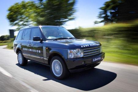 Range Rover Eléctrico