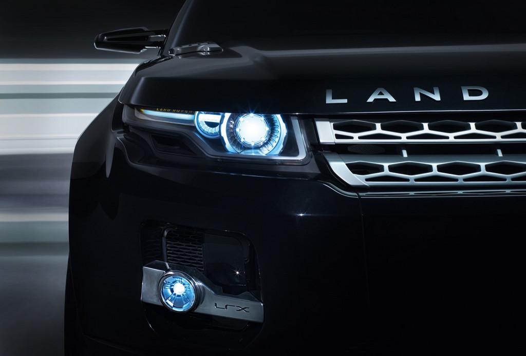 Foto de Black Land Rover LRX Concept (8/11)