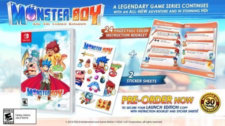 Monster Boy And The Cursed Kingdom Edicion Fisica