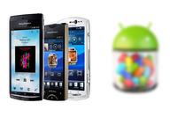 Sony afirma que están trabajando para poder actualizar la familia Xperia 2011 a Jelly Bean