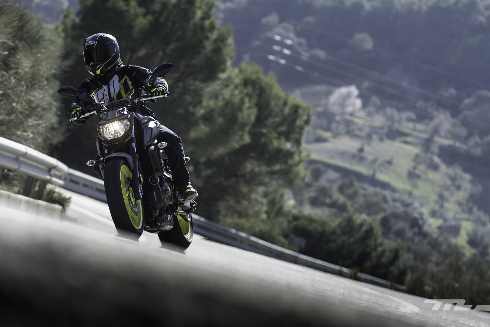 Foto de Yamaha MT-07 2018, prueba (54/56)