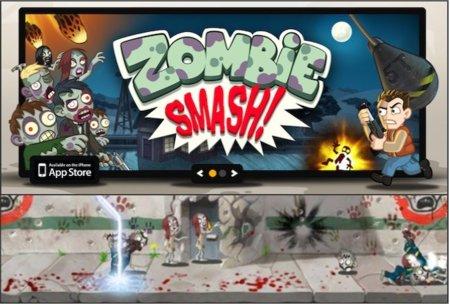 Zombie Smash se actualiza con un nuevo escenario y gráficos Retina