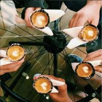Tomar café en un cono de helado, una experiencia de sólo 3 minutos