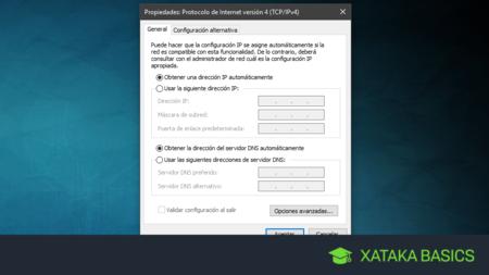 Cómo cambiar o configurar los DNS en Windows 10