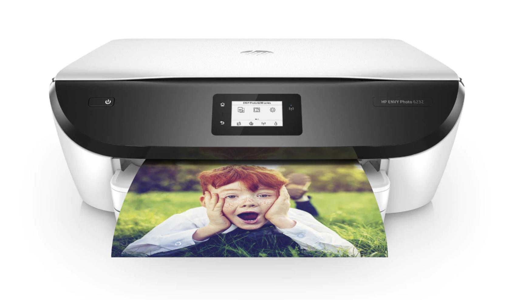 Impresora Multifunción tinta HP Envy Photo 6232, Wi-Fi, copia, escanea, compatible con Instant Ink