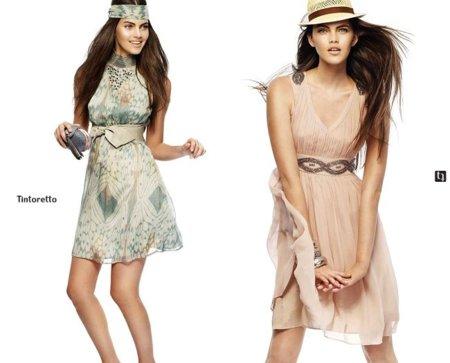 vestidos tintoretto verano 2011