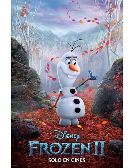 Frozen 2 Disney Presenta Seis Nuevos Pósters De Los Protagonistas En Esta Próxima Película Que Estará Llena De Magia