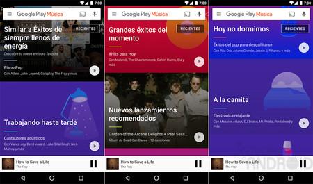Google Play Music 7.0 ya está aquí: conoce todas sus novedades y cómo descargar esta nueva versión