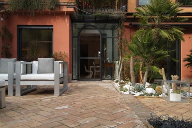 Foto de Puertas abiertas: una casa en el Janículo (1/9)