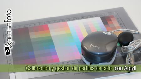 Calibración y gestión de perfiles de color con Argyll
