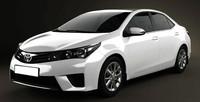 Este es el nuevo Toyota Corolla (recreación en 3D)